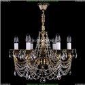 1701/6/181/C/GB Хрустальная подвесная люстра Bohemia Ivele Crystal