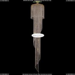 8311/40-200/G Хрустальная каскадная люстра Bohemia Ivele Crystal