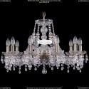 1410/10/240/Pa/V0300 Хрустальная подвесная люстра Bohemia Ivele Crystal
