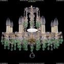 1410/8/160/G/V5001 Хрустальная подвесная люстра Bohemia Ivele Crystal