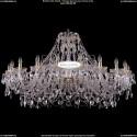 1411/20/460-80/G Хрустальная большая люстра Bohemia Ivele Crystal