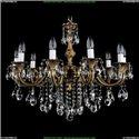 1702/10/250/B/FP Хрустальная подвесная люстра Bohemia Ivele Crystal