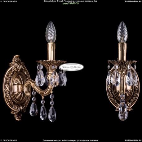 1702B/1/175/A/FP Хрустальное бра Bohemia Ivele Crystal