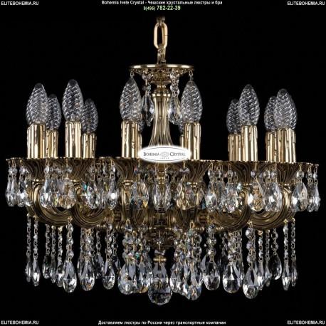 1702/14/CK175IV/A/GB Хрустальная подвесная люстра Bohemia Ivele Crystal