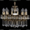 1701/14/A/GB Хрустальная подвесная люстра Bohemia Ivele Crystal (Богемия)