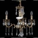 1702/3/CK175IV/A/GB Хрустальная подвесная люстра Bohemia Ivele Crystal