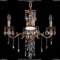 1701/4/B/FP Хрустальная подвесная люстра Bohemia Ivele Crystal (Богемия)