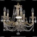 1702/5/CK175IV/C/GI Хрустальная подвесная люстра Bohemia Ivele Crystal