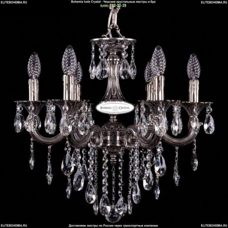 1702/6/CK175IV/B/NB Хрустальная подвесная люстра Bohemia Ivele Crystal