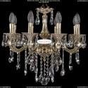 1702/8/CK175IV/B/GI Хрустальная подвесная люстра Bohemia Ivele Crystal