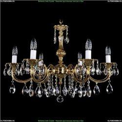 1702/6/250/A/G Хрустальная подвесная люстра Bohemia Ivele Crystal
