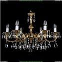 1702/6/A Хрустальная подвесная люстра Bohemia Ivele Crystal (Богемия)
