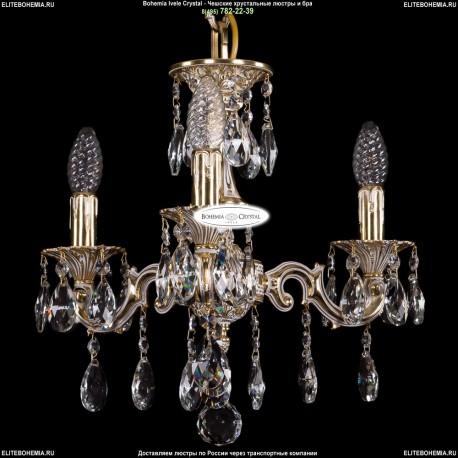 1702/3/CK125IV/A/GW Хрустальная подвесная люстра Bohemia Ivele Crystal