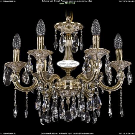 1702/6/CK125IV/A/GI Хрустальная подвесная люстра Bohemia Ivele Crystal