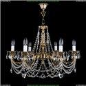 1702/6/C Хрустальная подвесная люстра Bohemia Ivele Crystal (Богемия)