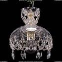 7711/22/1/G Хрустальная подвесная люстра (подвес) Bohemia Ivele Crystal