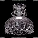 7711/22/1/Ni/Balls Хрустальная подвесная люстра (подвес) Bohemia Ivele Crystal (Богемия)