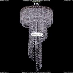 8311/40-70/Ni Хрустальная каскадная люстра Bohemia Ivele Crystal