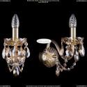 1402B/1/195/XL/G/M721 Хрустальное бра Bohemia Ivele Crystal