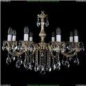 1702/8/250/B/GW Хрустальная подвесная люстра Bohemia Ivele Crystal