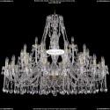 1413/20+10+5/460-100/G Большая хрустальная люстра Bohemia Ivele Crystal