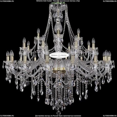 1415/16+8+4/460-132/G Хрустальная подвесная люстра Bohemia Ivele Crystal