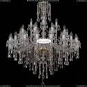 1415/20+10+5/400-128/G Большая хрустальная люстра Bohemia Ivele Crystal