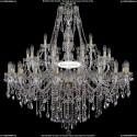 1415/20+10+5/460-132/G Большая хрустальная люстра Bohemia Ivele Crystal