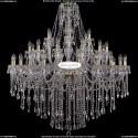 1415/24+12+6/460-140/G Большая хрустальная люстра Bohemia Ivele Crystal