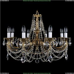 1702/8/C Хрустальная подвесная люстра Bohemia Ivele Crystal (Богемия)