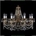 1702/8/250/C Хрустальная подвесная люстра Bohemia Ivele Crystal