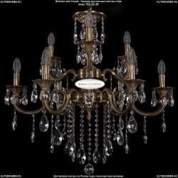 1702/6+3/265+181/B/FP Хрустальная подвесная люстра Bohemia Ivele Crystal