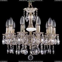 1702/10/CK125IV/A/GW Хрустальная подвесная люстра Bohemia Ivele Crystal