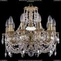 1702/10/CK125IV/C/G Хрустальная подвесная люстра Bohemia Ivele Crystal