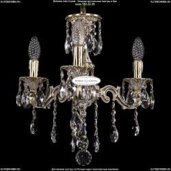 1702/3/CK125IV/B/GW Хрустальная подвесная люстра Bohemia Ivele Crystal