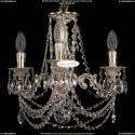1702/3/CK125IV/C/GW Хрустальная подвесная люстра Bohemia Ivele Crystal