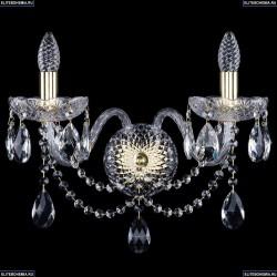 10.12.2.195.XL.Gd.Sp Бра хрустальное Bohemia Art Classic (Арт Классик), 11.12