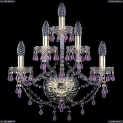 10.24.2+2+1.165.Gd.V7010 Бра хрустальное Bohemia Art Classic (Арт Классик), 11.24