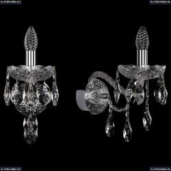 10.25.1.165.XL.Cr.Sp Бра хрустальное Bohemia Art Classic (Арт Классик), 11.25