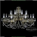 1703/16/320/C/GB Хрустальная подвесная люстра Bohemia Ivele Crystal