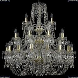 11.11.16+8+4.300.3d.Gd.Sp Люстра хрустальная Bohemia Art Classic (Арт Классик), 11.11