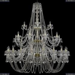 11.11.20+10+5.530.3d.Gd.Sp Люстра хрустальная Bohemia Art Classic (Арт Классик), 11.11