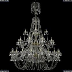 11.11.20+10+5.530.3d.XL-198.Gd.Sp Люстра хрустальная Bohemia Art Classic (Арт Классик), 11.11