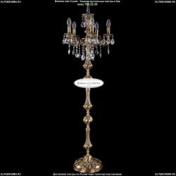 1702T1/5/CK125IV-134/B/FP Торшер с элементами художественного литья и хрусталем Bohemia Ivele Crystal