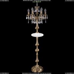 1702T1/6/CK125IV-134/A/FP Торшер с элементами художественного литья и хрусталем Bohemia Ivele Crystal