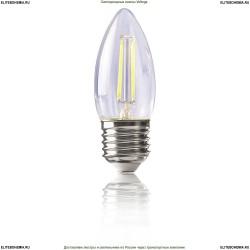 8335 (VG1-C1E27cold4W-F) Voltega Филаментная светодиодная лампа - свеча 4W Е27 4000К