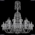 11.24.20+10.400.XL-127.Cr.V0300 Люстра хрустальная Bohemia Art Classic (Арт Классик), 11.24