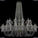 11.24.24+12.530.h-145.Gd.V7010 Люстра хрустальная Bohemia Art Classic (Арт Классик), 11.24