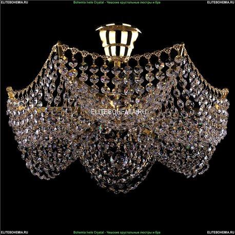 7708/3/G Bohemia Ivele Crystal, Чешская Люстра на штанге с хрустальным рожком