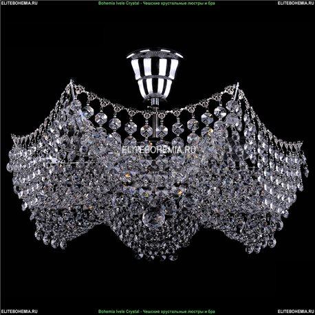 7708/3/Ni Bohemia Ivele Crystal, Чешская Люстра на штанге с хрустальным рожком
